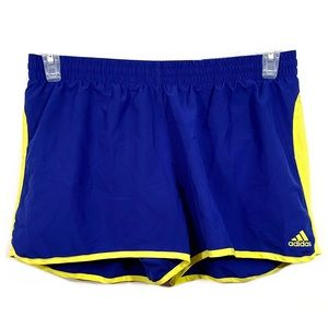 Adidas Lined Athletic Activewear Running Shorts